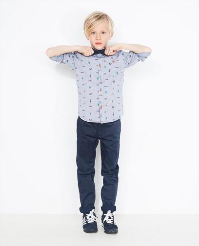 Katoenen jeanshemd